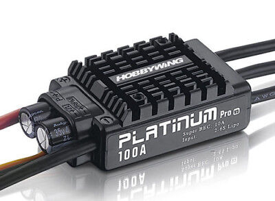 Hobbywing Platinum 100A V3 Brushless ESC w/10A BEC NEU
