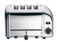 DUALIT 40352 Vario 4-Slice Classic Toaster Stainless Steel Adjustable width slots - *BRAND NEW*