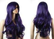 Purple Black Cosplay Wig