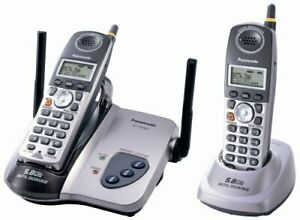 Digital Cordless Telephone with Dual Handsets