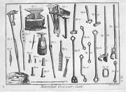 Antique Engraving Tools