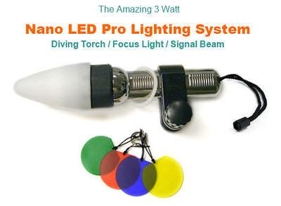 Fantasea LED NANO Pro Torch rrp £36 NOW £26 Fantasea Nano