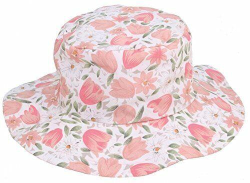 MYTEM-GEAR Geblümter Damen Sonnenhut Sommerhut Strandhut Hut mit breiter Krempe