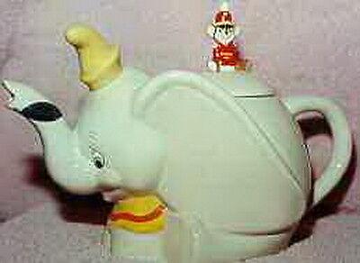 Disney - Dumbo - Timothy - Mouse- Teapot - Tea Pot -  Mint