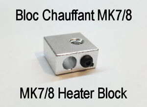 MK7/8 Bloc Chauffant Imprimante 3D Printing Heating Block