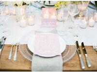 Chiavari Chair Hire £2.20 Silver Throne Chair Wedding £199 Cutlery Hire £1.19 Tableware Hire London
