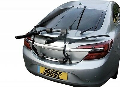 UKB4C 3 Cycle Carrier Rear Tailgate Boot Bike Rack fits Insignia