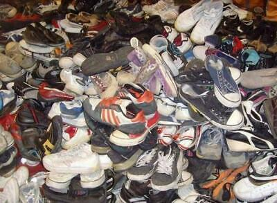 25 Kg Wholesale Second Hand Used ladies Winter Shoes, A Grade £3.50 Per Kg