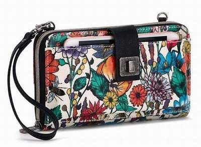 NWT Sakroots Large Smartphone Wristlet Crossbody Optic In Bloom New SHIP INTL for sale  Shipping to India