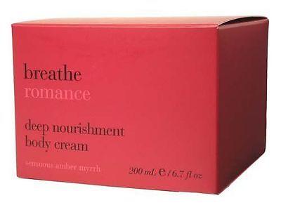 Bath & Body Works Breathe Romance Deep Nourishment Body Cream - 6.7 fl. oz.