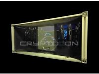 wanted crypto mining rigs and parts to build them can do joint venture etc