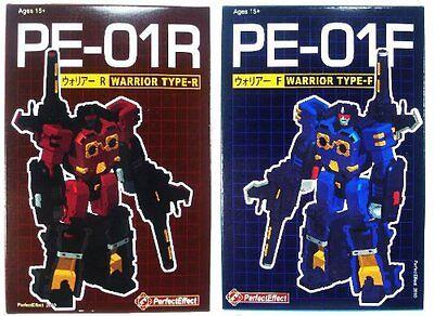 TRANSFORMERS G1 PERFECT EFFECT PE- 01R & 01F WARRIOR  comprar usado  Enviando para Brazil