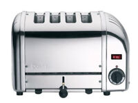 DUALIT 40352 Vario 4-Slice Toaster Stainless Steel Adjustable width slots - BRAND NEW