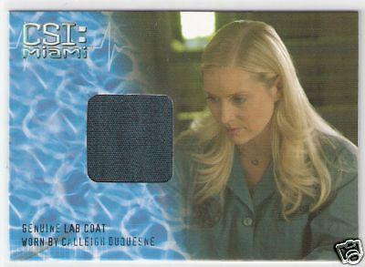 CSI MIAMI - EMILY PROCTER as CALLEIGH - Costume Card