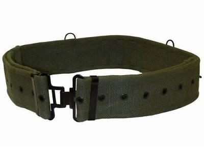 Pro Force 58 Pattern Army/ Cadet Webbing Belt - Olive Green