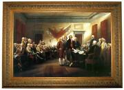 Declaration of Independence Framed