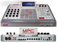 AKAI Professional MPC Renaissance plus Akai LPK-25 midi controller