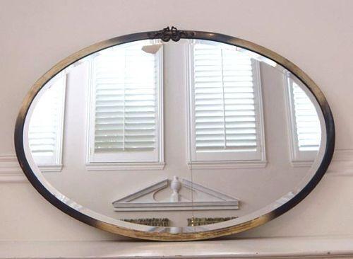 Large Antique Mirror | eBay