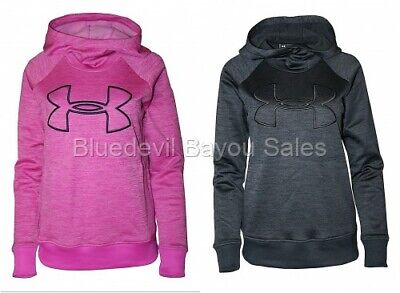 Under Armour Women's Size S Logo Pullover Hoodie 1318396  ()