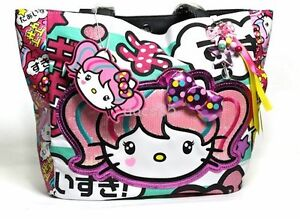 Hello Kitty Tote Bag Purse Japanimation Loungefly Sanrio Kawaii Handbag New