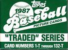 1987 Season Baseball Cards