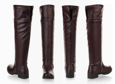 Attack On Titan Cosplay Shoes Wowen Men Boots Flat Knee High Stretch Riding Boot - Cosplay Booties