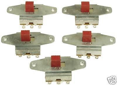 Lot Of 50 Panel Mount 3pdt Slide Switches Motor Reversing Made In Usa 324x50