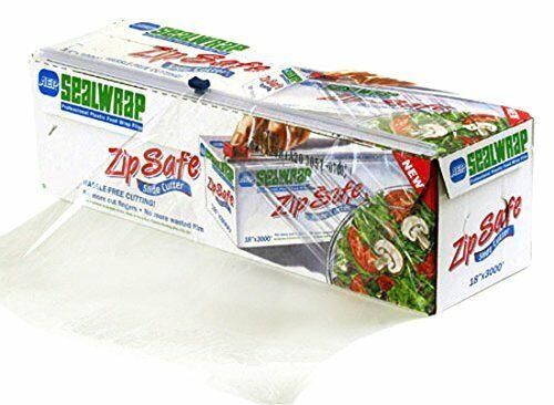 SealWrap 30510600 Zipsafe Plastic Wrap, 12 Wide by 3000