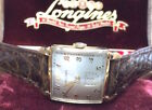 Longines Solid Gold Case Wristwatches
