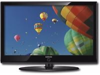 SAMSUNG 40 inch LCD HD TV for sale - Perfect working condition with remote control and all cables