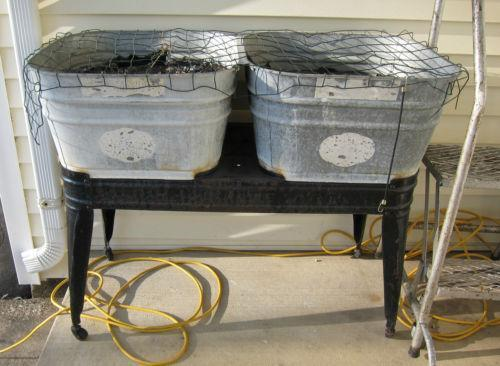 Beautiful Antique Wash Tub | EBay
