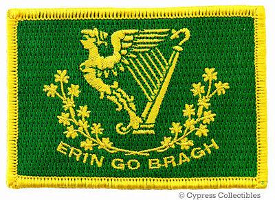 ERIN GO BRAGH PATCH new embroidered IRISH IRELAND FLAG iron-on EIRE St. Patrick