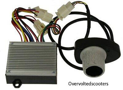 Quad Volt Kit (Razor Dirt Quad Throttle and Controller (Electrical Kit) 24 volt 5&6 PIN)