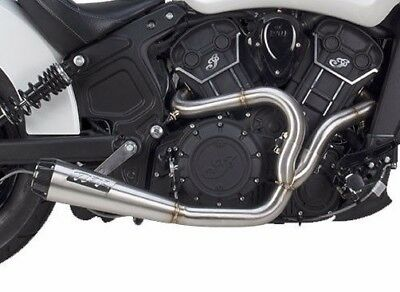 2017 19 <em>VICTORY</em> OCTANE  INDIAN SCOUT SIXTY TWO BROTHERS FULL EXHAUST