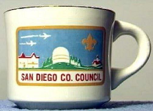 BSA Mug San Deigo County Council rectangular cp logo