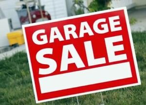 GARAGE SALE !  April 27 in WOODBRIDGE !