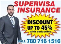 VISITOR/SUPER VISA INSURANCE UP TO 45% DISCOUNT