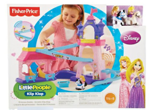 Écurie Little People Princesses Disney Klip Klop