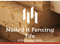 Nailed it Fencing Fife. In need of a fencer, gate or any other fencing repairs?