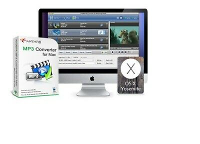 AnyMP4 MP3 Converter for Mac, MP3 to MP3, AAC, AIFF, ALAC, WAV and M4A & more - Mp3 M4a Converter