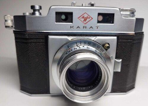Agfa Karat IV with Rodenstock Karat-Heligon f2 50mm lens
