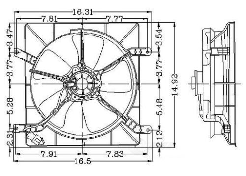 Details about Engine Cooling Fan embly fits 1994-2001 Honda Prelude on 1985 honda accord engine diagram, 1999 honda prelude engine diagram, 2003 honda civic si engine diagram, 1997 honda accord engine diagram, 2009 honda accord engine diagram, 1997 honda prelude engine diagram, 1998 honda passport engine diagram, 86 prelude si engine diagram, 2009 honda civic si engine diagram, 2001 honda accord engine diagram, 1995 honda accord engine diagram, 1992 honda accord engine diagram, 1992 honda prelude engine diagram, honda prelude vtec engine diagram, 01 honda prelude engine diagram, 98 honda prelude engine diagram, 97 honda prelude engine diagram, honda prelude transmission diagram, 1992 honda ex engine diagram, 1999 honda passport engine diagram,