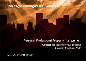 Personal, Professional Property Management Services