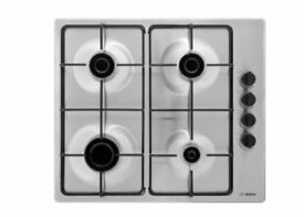 BOSCH PBP6B5B80 Gas Hob Stainless Steel - New Boxed