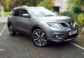 2015 Nissan X-Trail 1.6 dCi Tekna 5 door 4WD [7 Seat] Diesel Estate