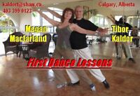 Wedding Dance - Private Lessons by Experienced Teachers