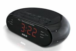Desk Digital Time AM/FM RADIO Snooze Alarm Clock LED Backlight