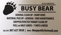 Fall clean up / dump runs / general clean up
