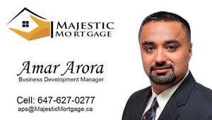 For Low Mortgage Rates and Honest Service Call ☎ 6476270277
