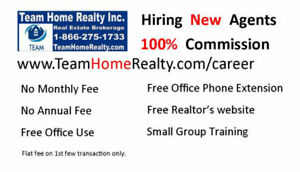 Real Estate Agent Wanted !